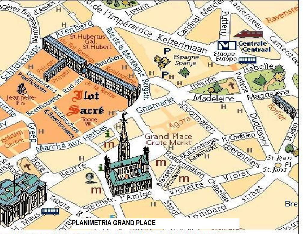 English for Urban Planners / Grand Place - Bruxelles