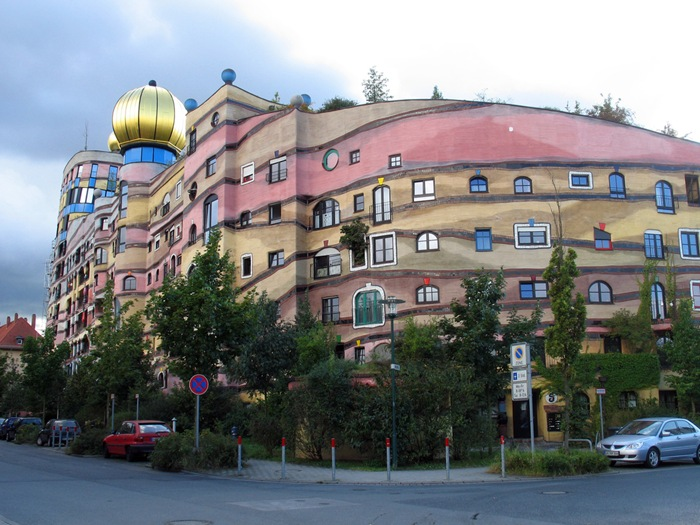 Darmstadt Germany  city photos : ... / Forest Spiral – Hundertwasser Building Darmstadt, Germany