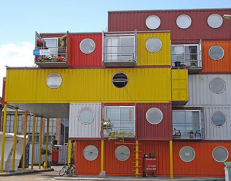 English for urban planners container city london uk - Matson container homes ...